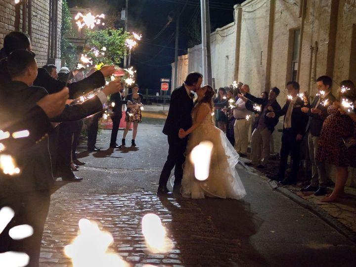 Tmx Sparklers2 51 1015375 1564405921 Pinebluff, North Carolina wedding videography