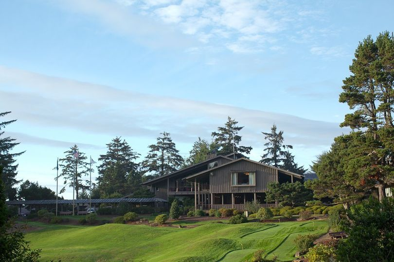 Exterior view of the Salishan Spa & Golf Resort