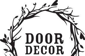 Door decor/ Edwina sylvester floral design