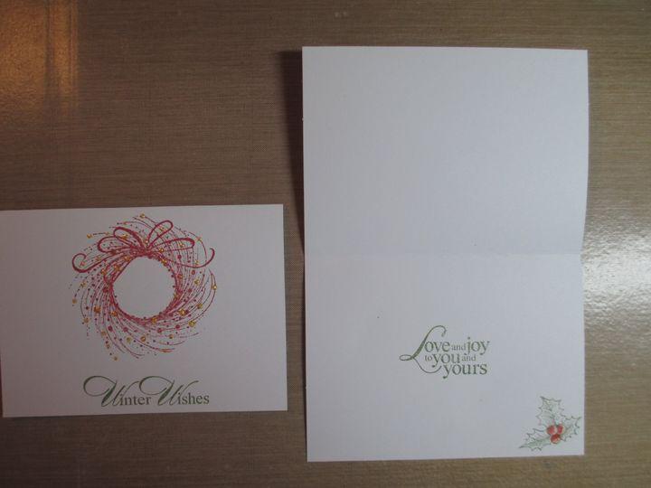 Tmx 1403053353963 Stamped Wreath 001 Batavia wedding invitation
