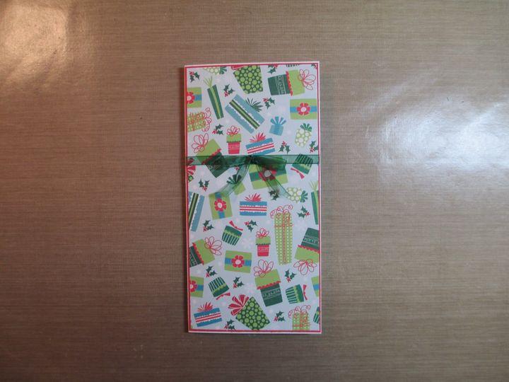 Tmx 1403058236101 Christmas Moneyholder Card2 001 Batavia wedding invitation