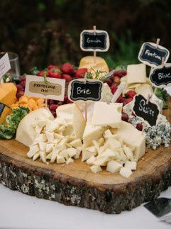 Artisanal cheese board