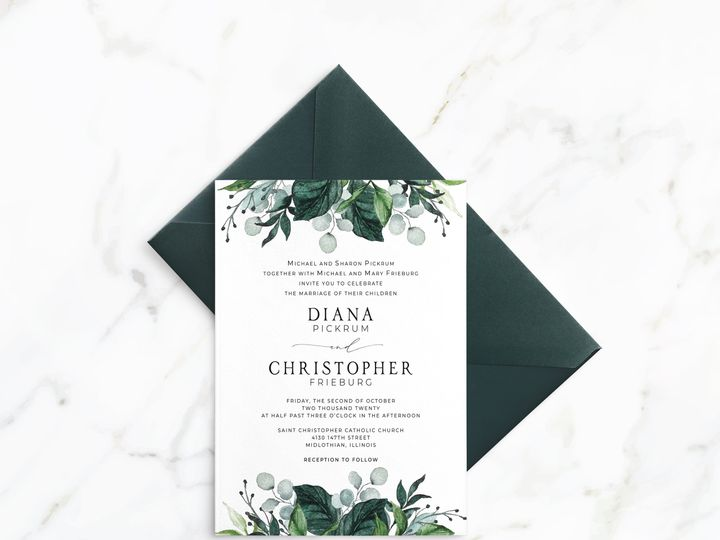 Tmx Dc Invitation Mockup 51 1947375 159603790884783 Minneapolis, MN wedding invitation