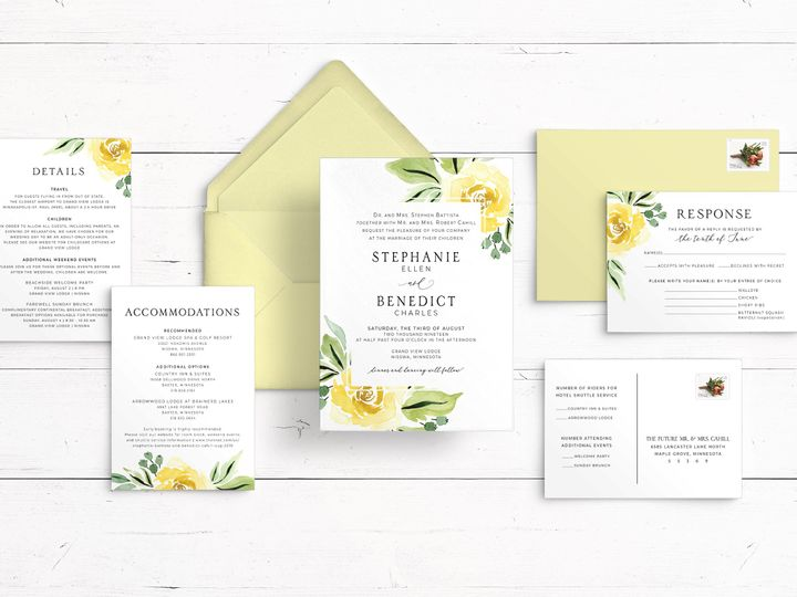 Tmx Mockup Landscape View 51 1947375 159603811164389 Minneapolis, MN wedding invitation