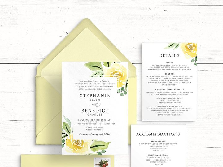 Tmx Stephanie Benedict Wedding Suite Mockup 51 1947375 159603811196747 Minneapolis, MN wedding invitation