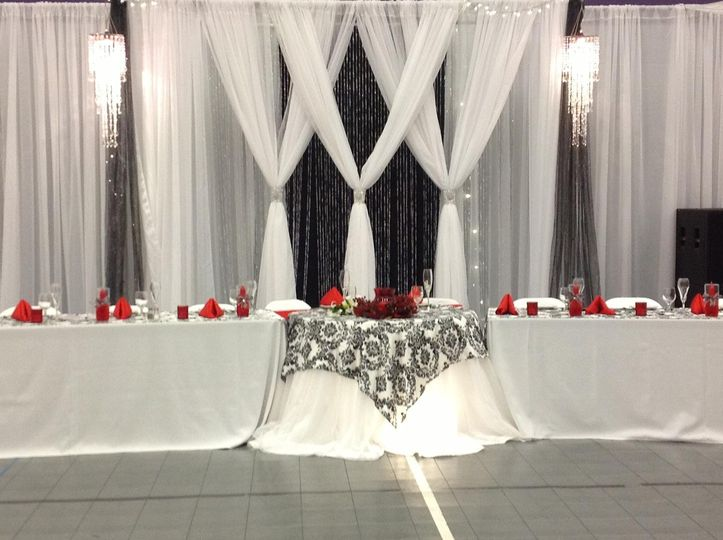 Az wedding decor event rentals gilbert az weddingwire 800x800 1418874394659 az wedding decor backdrop black white and red junglespirit Image collections