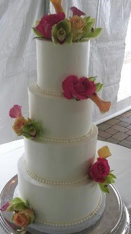 Short North Piece of Cake Wedding Cake Columbus OH WeddingWire
