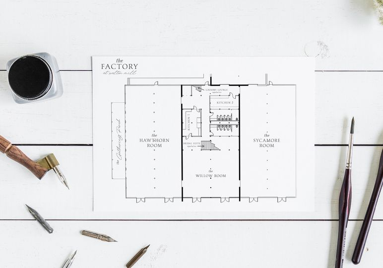 Layout of event spaces