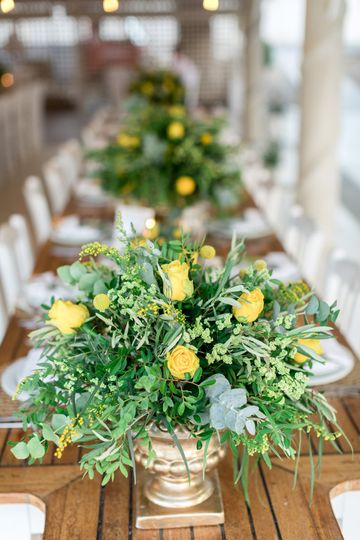Dreams In Style yellow roses c