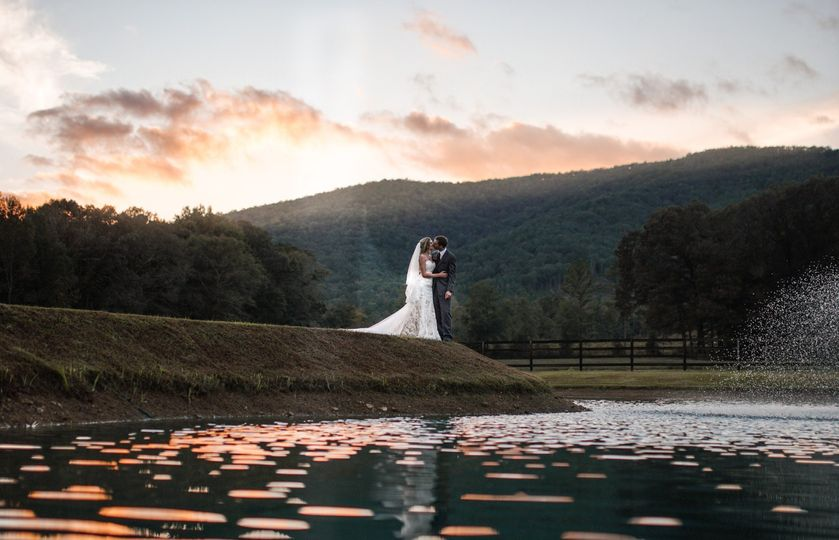 Sunset after ceremony
