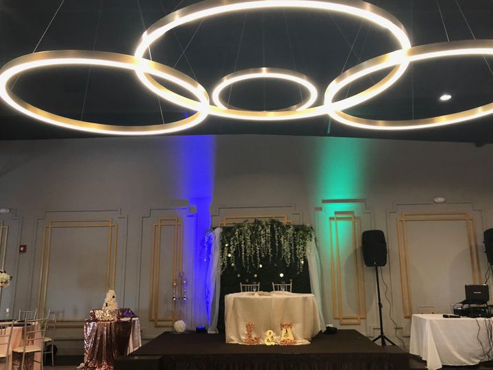 Stage and ceiling lighting