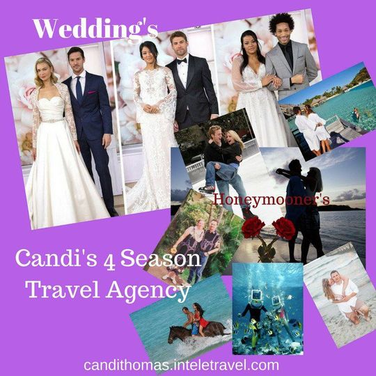 Weddings are not just at the home front any more, take your party and travel.
