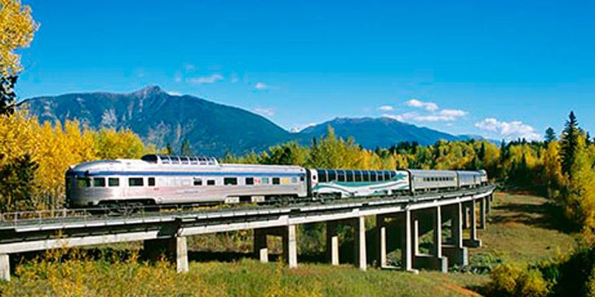 Great place to honeymoon is by train. There is many train in the world.