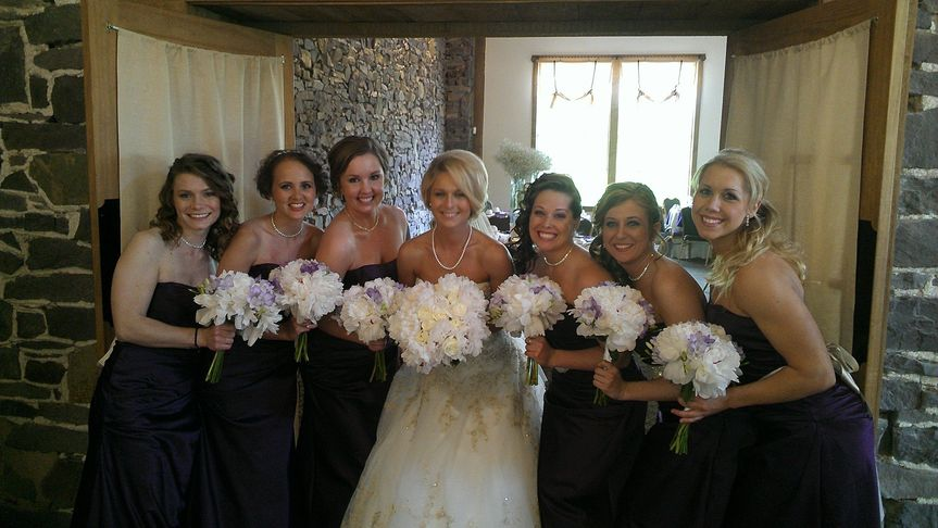BRIDE AND GALS