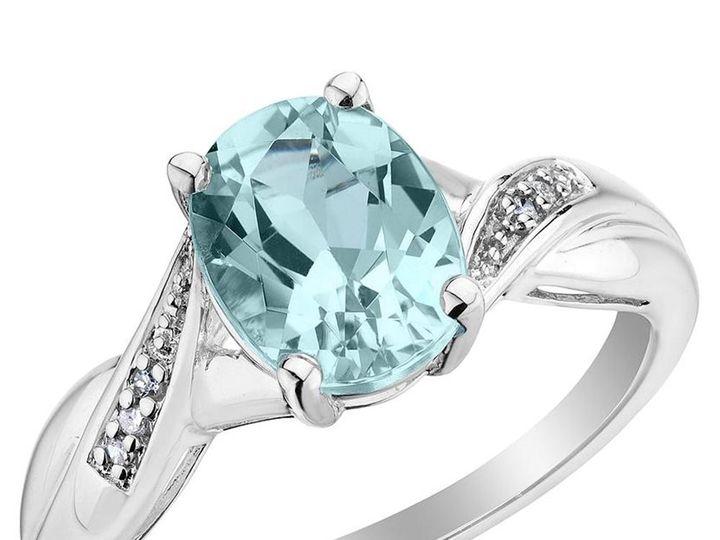Tmx 1426787824768 Aquamarine Ring With Diamonds 200 Carat Oak Harbor wedding jewelry