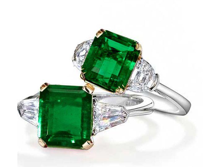 Tmx 1426787846724 Genuineemeraldring Oak Harbor wedding jewelry