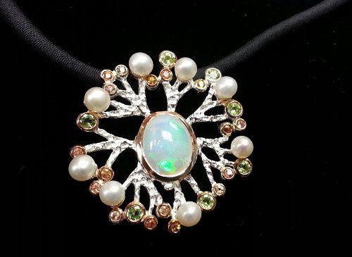 Tmx 1426787850372 Opal Pendant Oak Harbor wedding jewelry