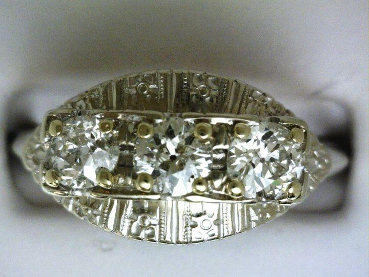 Tmx 1426790427415 Vintage Ring Oak Harbor wedding jewelry
