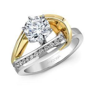 Tmx 1429899343029 Dual Tone Swirl Oak Harbor wedding jewelry