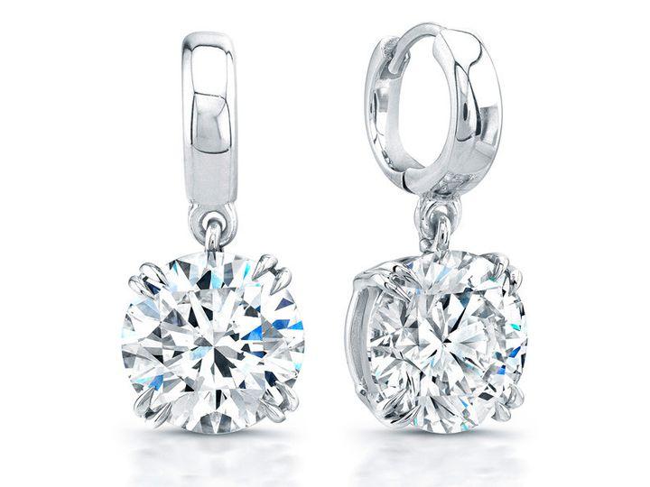 Tmx 1429993694550 White Gold Diamond Earrings Oak Harbor wedding jewelry