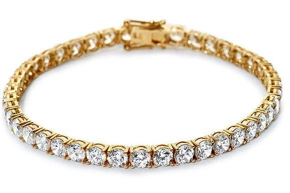 Tmx 1429993701019 Yellow Gold Diamond Bracelet Oak Harbor wedding jewelry