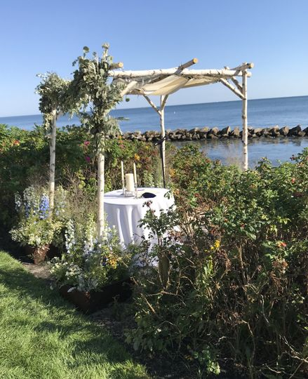 Chuppah at Cape Cod - 2018