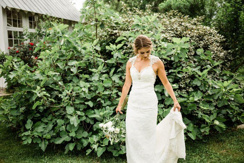 Candid Bridal Photo