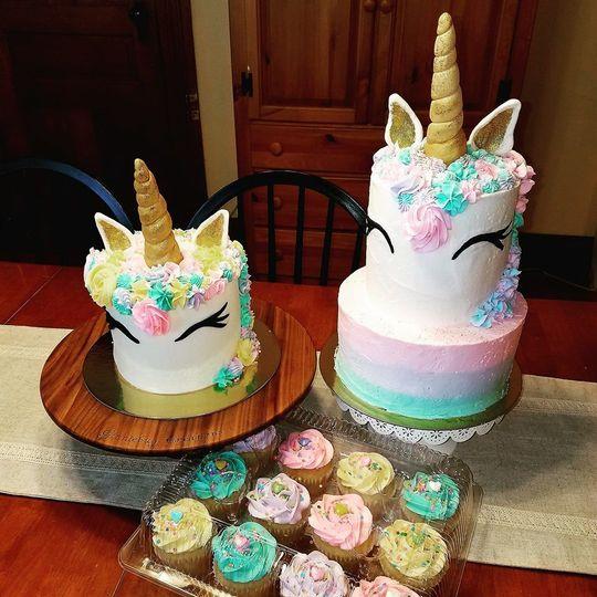 576d081b41533ec3 1534189773 084cad8ead5c0de7 1534189773395 3 Unicorn Cakes