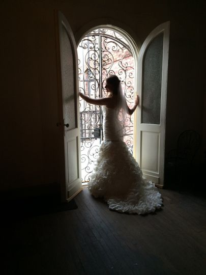 Wedding Dance Bridal Photo