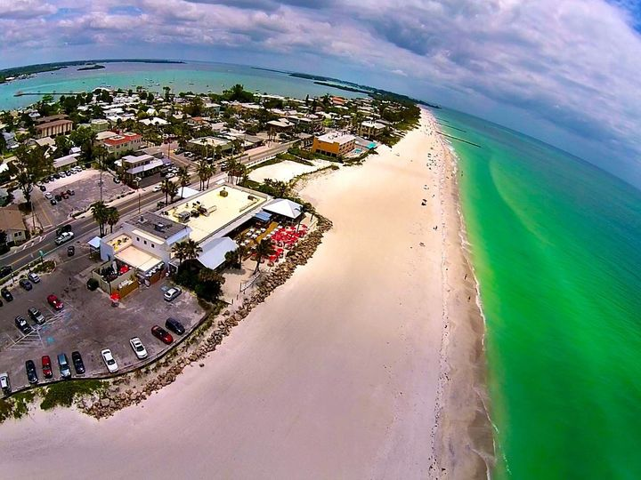 Tmx 1477677322992 Arial View Of Beachhouse Bradenton Beach, FL wedding venue