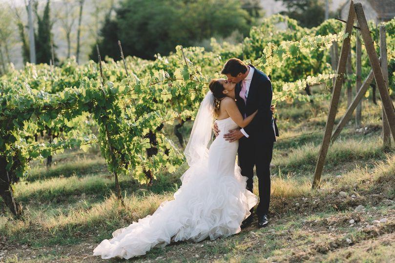 Vinyard wedding in tuscany