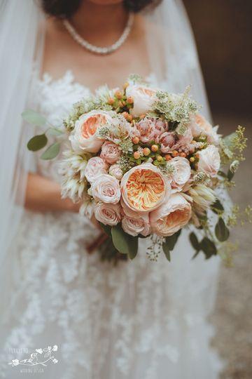 Wedding Bouquet Funkybird