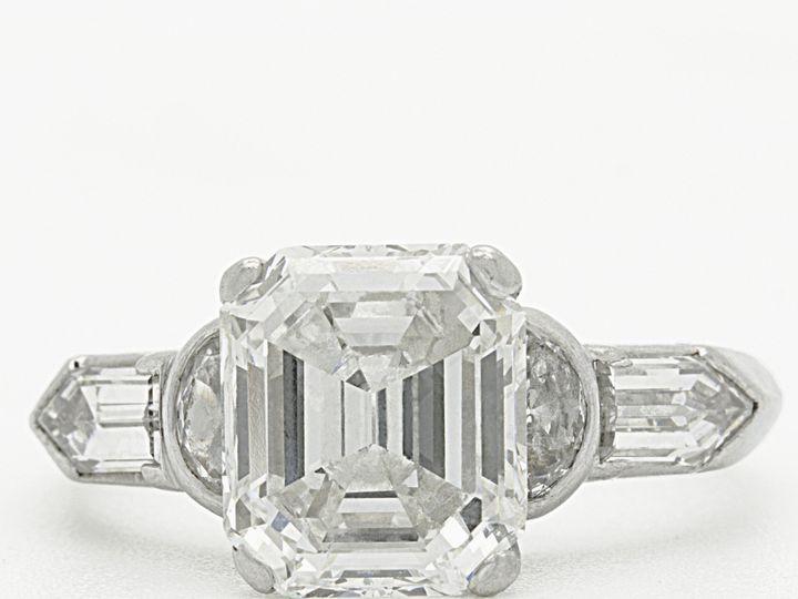 Tmx 1483022840791 Reliable Gold E   Custom Made Emerald Cut Engageme Providence wedding jewelry