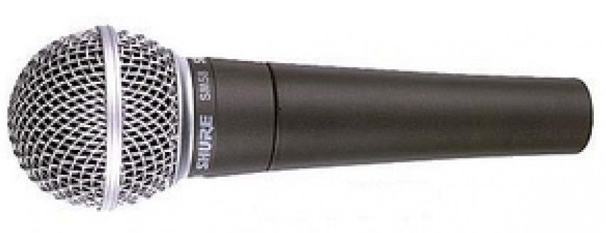 When it comes to vocal microphones, Holliday Productions has been using the classic standard and...