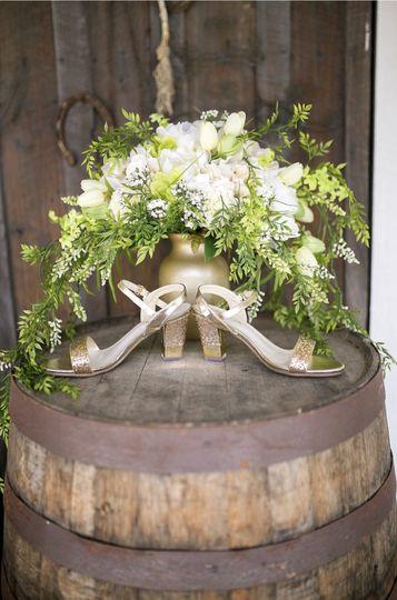 Bass Wedding - Bride bouquet