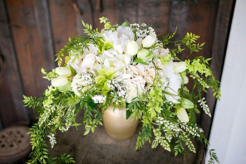 Bass Wedding - Bride bouquet 2