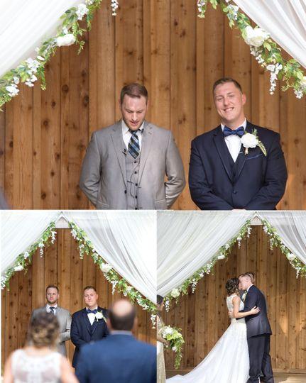 Bass Wedding- Ceremony Vine