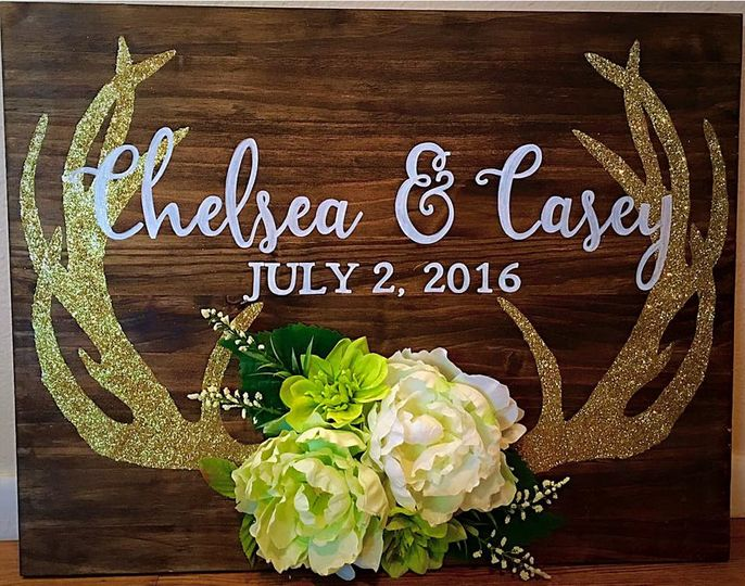 Bass Wedding- Entry Sign