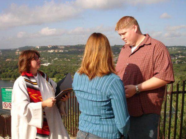Tmx 1326997722382 HycheMt.Bonnellceremony2 Austin wedding officiant