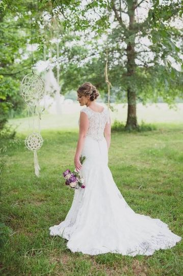 Modern brides dress attire huntsville al weddingwire for Wedding dress shops in huntsville al
