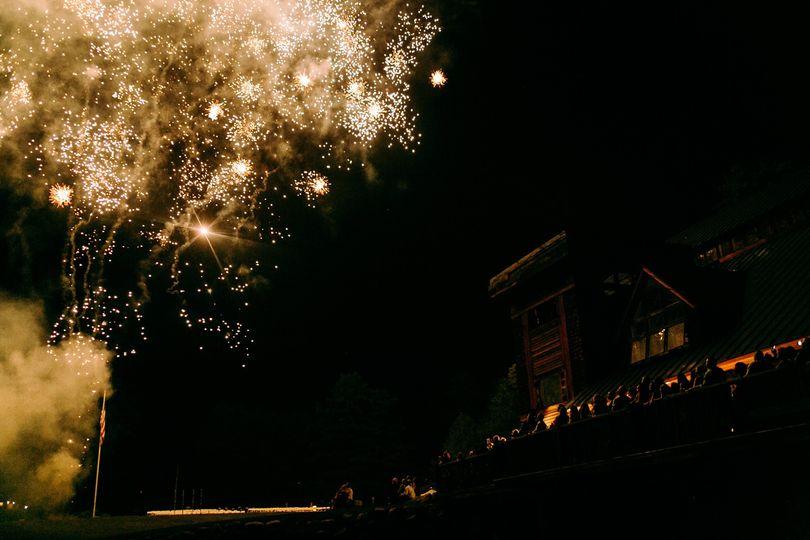 Wedding Night Fireworks
