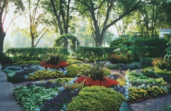 General Crook House Museum garden