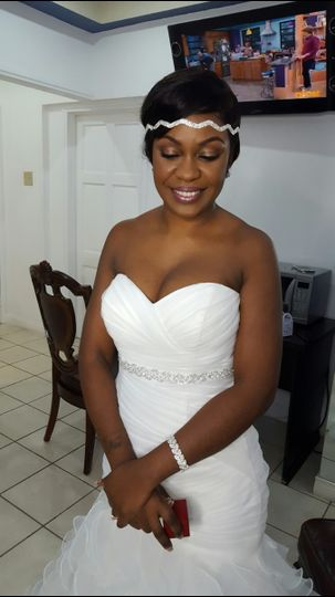Traditional Makeup for our lovely bride Carla