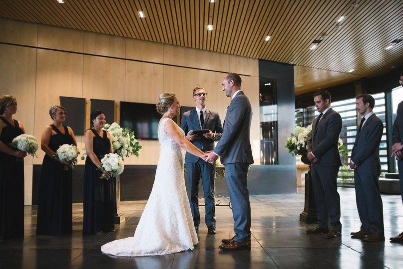 A modern ceremony
