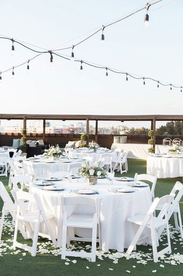 Gulfside Rooftop Reception