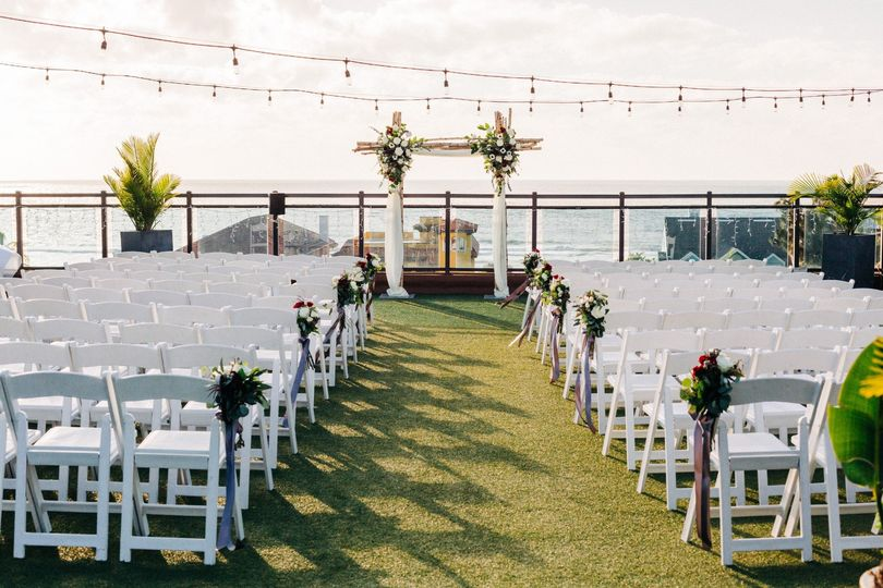 Gulfside Rooftop Ceremony