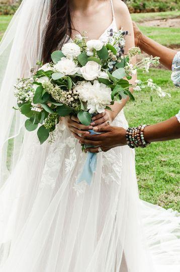 Hint of Blue Bouquet