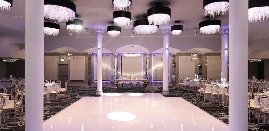 Dance floor & Head Table