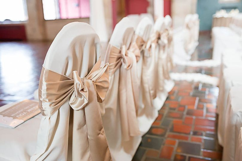 Chair Cover / Sash Close-up
