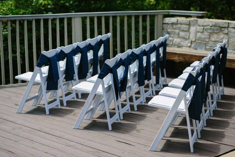 Folding Chair Sashes